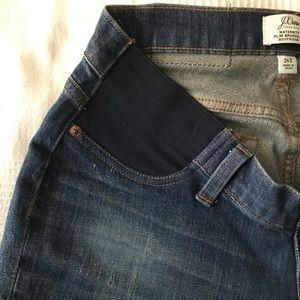 6d4c5ded34b9e J. Crew Jeans | J Crew Maternity Slim Broken In Boyfriend Jean ...